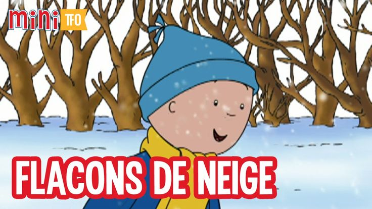 Caillou - Flocons de neige - S04 Ép06 -