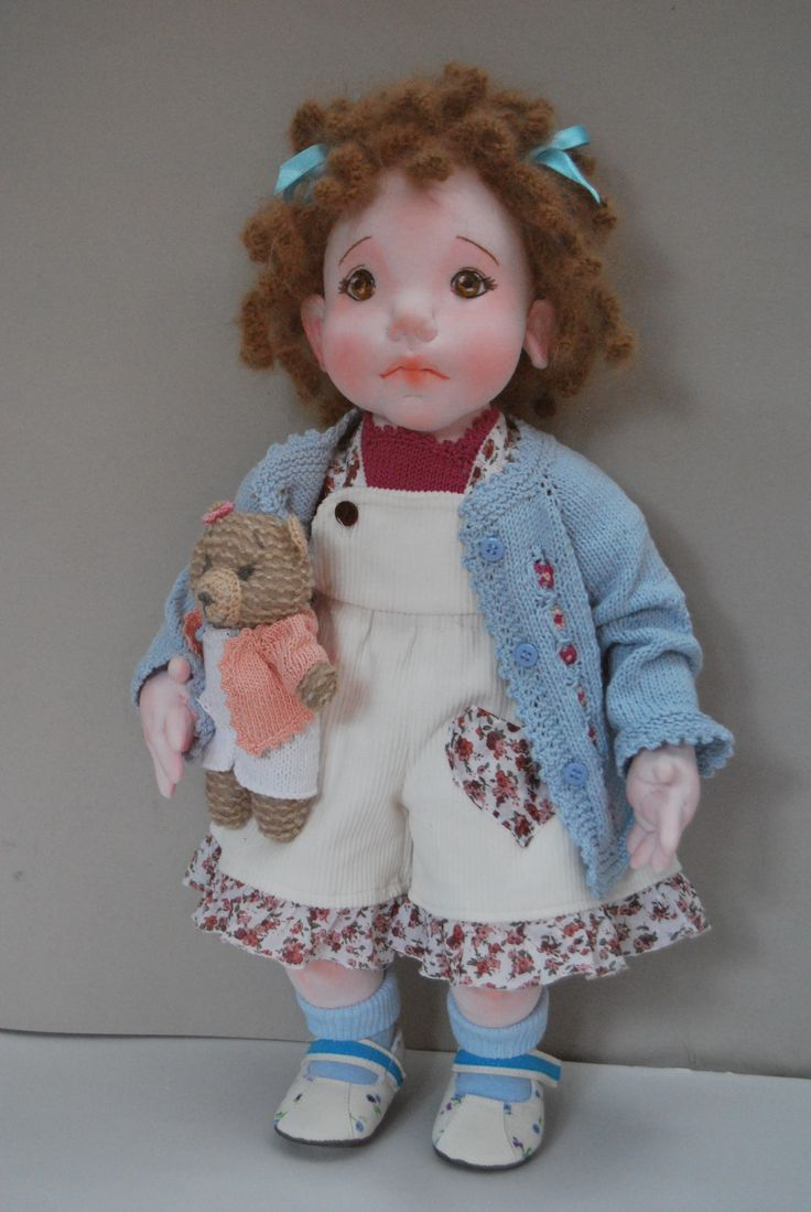 "Cindy 20"" soft sculptured on of a kind doll"