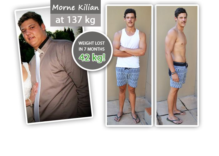 """""""At 19 years of age, I weighed in at 137 Kgs.  I heard about the new """"miracle Weight loss"""" product, Garcinia Cambogia from SA Vitamins, and decided to give it a try.  The success I reached, was astonishing and simply changed my life."""