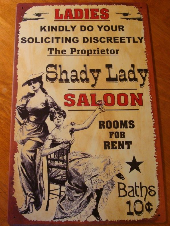 Old West Style Decor | primitive style western decor saloon decor tin sign