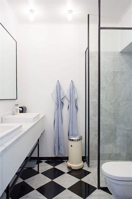Industriële klassieke chique badkamer | Inrichting-huis.com