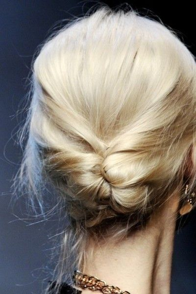 Long Hair Women's Styles : Updo for long hair. Original updo to make when you are dressing boho style….