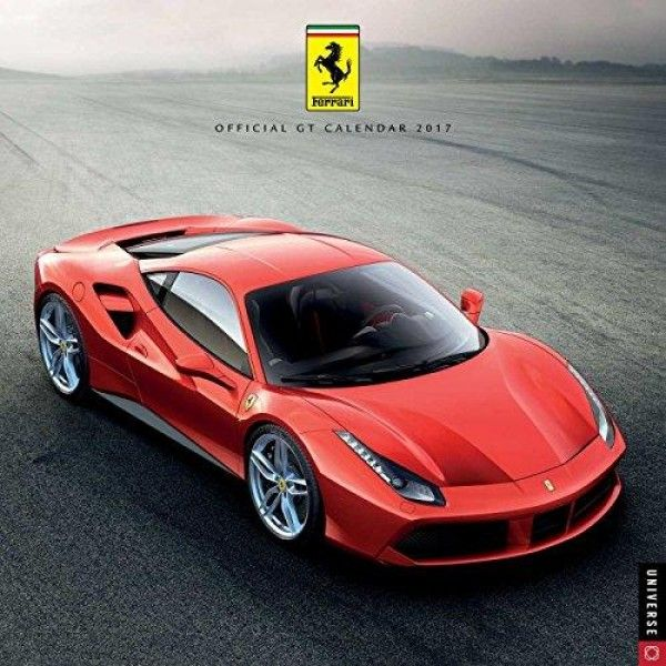 Ferrari Official GT 2017 Wall Calendar  Ferrari #2017 #Wall #Calendar features beautiful, full-color photographs of the 58 Speciale, 458 Spider, 599 GTB Fiorano, California, F12 Berlinetta, La Ferrari, and 458 Italia.