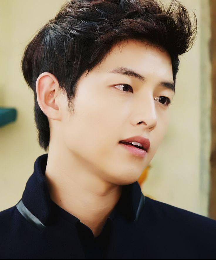 This hairstyle - Song Joong-Ki at The Innocent Man (TV series)