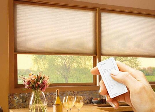 34 best images about window treatments on pinterest for Bali blinds motorized remote control