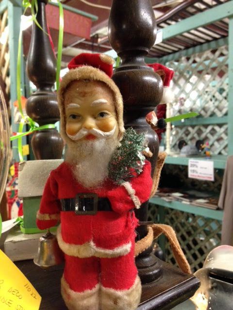 Antique Christmas Santa Claus at Scranberry Coop
