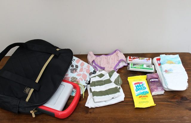 Mommy emergency kit for the car