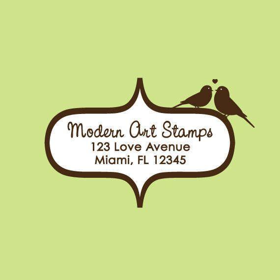 Wedding Stamp Custom Wedding Stamp Custom Rubber Stamp