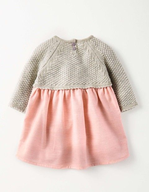 Pretty Knitted Dress 71532 Clothing at Boden