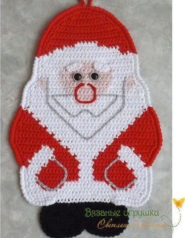 Идеи новогодние - вышивка, вязание