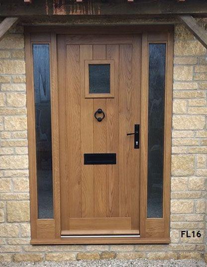 Oak Cottage Doors Framed Ledged Oak or Painted Hardwood