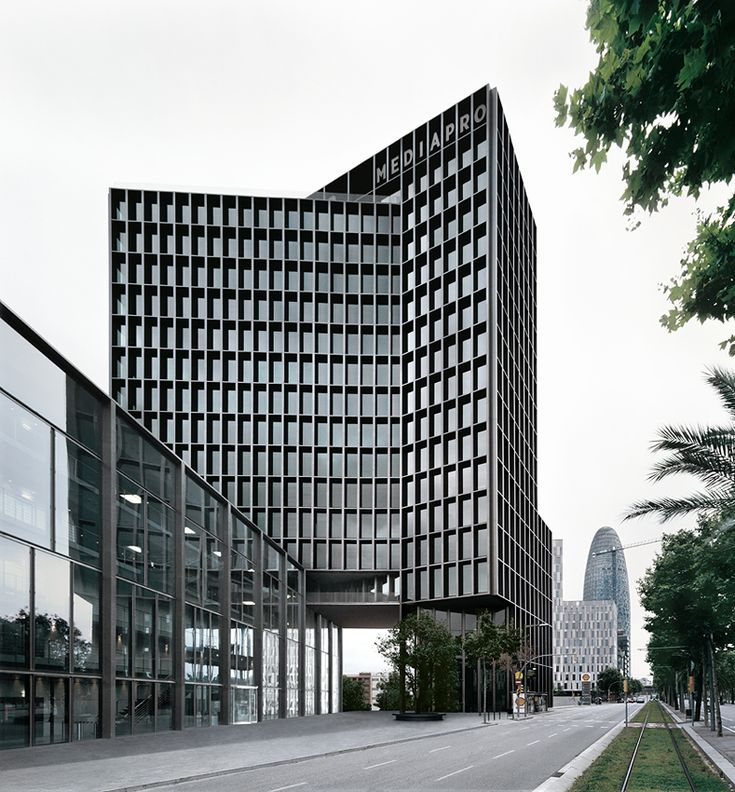 edificio mediapro, barcelona