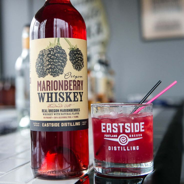 Oregon Marionberry Whiskey is a small batch spirit hand-crafted by Eastside Distilling on Distillery Row in Portland, Oregon.  I need to have The Riveter.