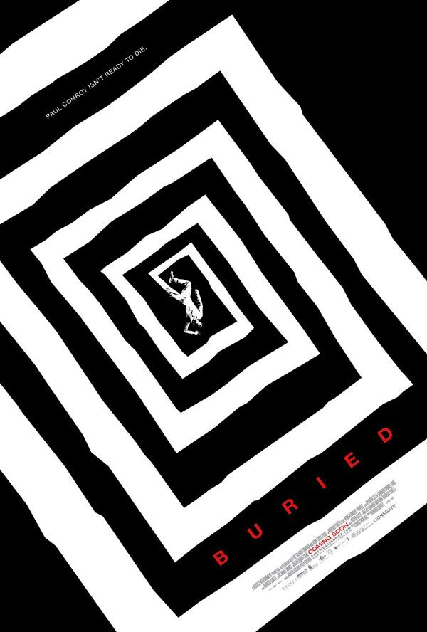Buried - Poster inspired from Saul Bass