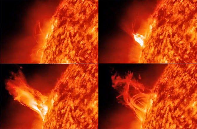Nature alerte: 11/09/2014...Une eruption solaire (classée X 1.6 ), une des plus importante de ces 2 dernières années, nous envoie son éjection de masse coronale vers la Terre, des perturbations electomagnetiques sont à prévoir