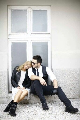 Urban prewedding photoshoot