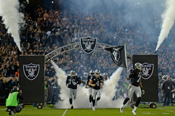 Raiders schedule: Record five prime time games, including two at Coliseum @mercnews