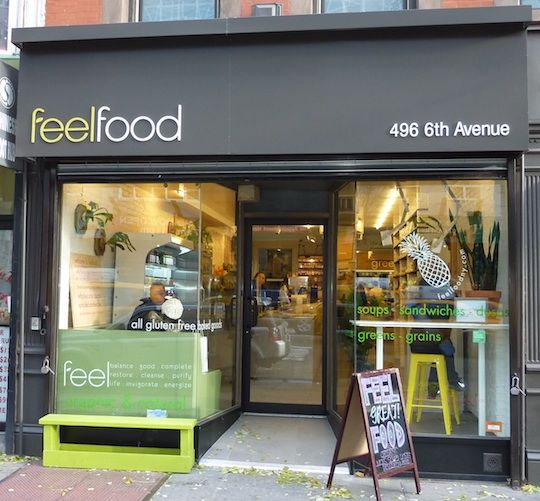 clean lettering feel-food-organic-restaurant-nyc