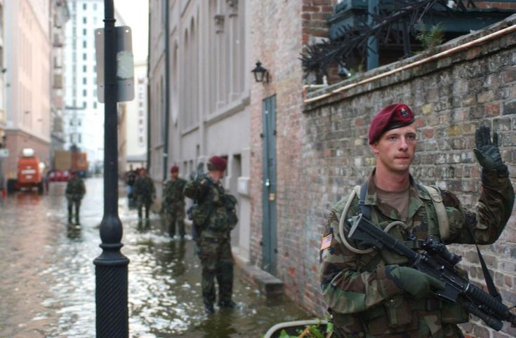 A Paratrooper from 2nd Battalion, 505th Parachute Infantry ...