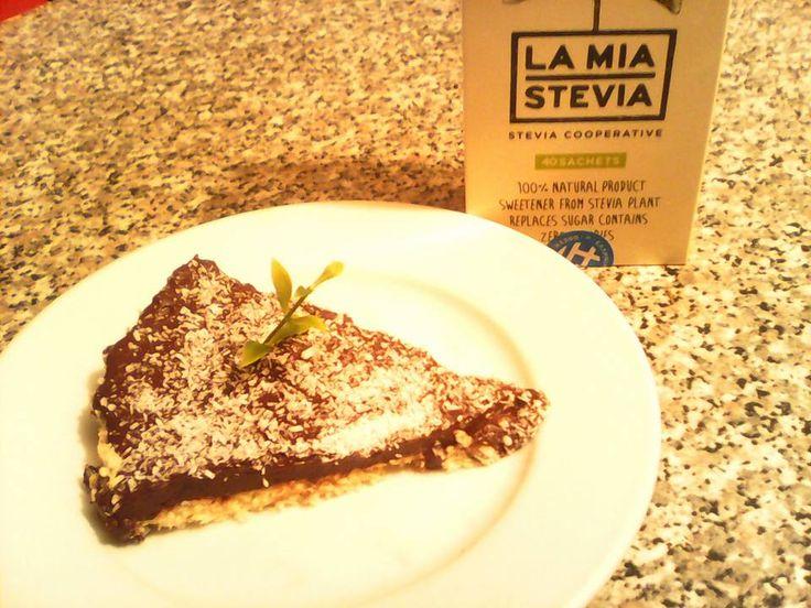 Συνταγές για διαβητικούς και δίαιτα: ΤΑΡΤΑ BOUNTY ΜΕ STEVIA...!!!