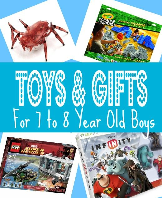 If you're wondering what toys does a seven year old boy want for his birthday or Christmas be sure to browse through this list - kid and parent approved gifts for 7 to 8 year olds.