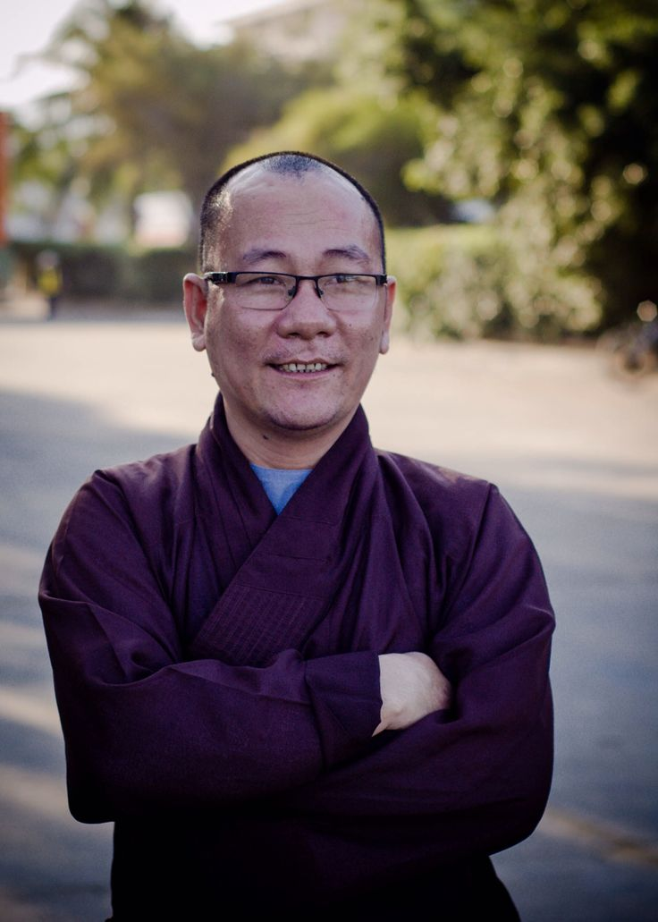 Cheerful monk #Asia #Vietnam  #travel #monk