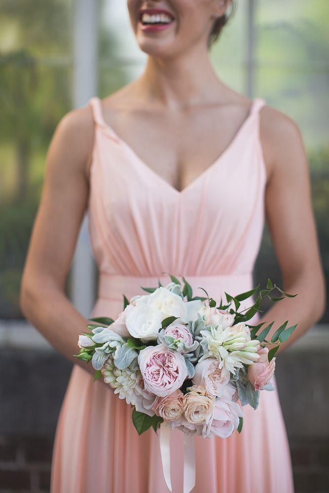 ViCTOR | Real Wedding | Style STEPHANIE in Peach