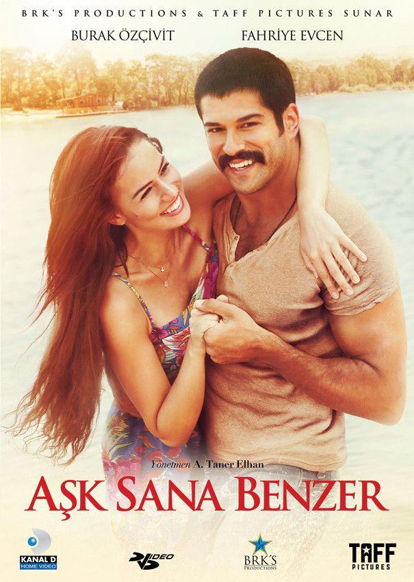 Aşk Sana Benzer - DVD (2015)