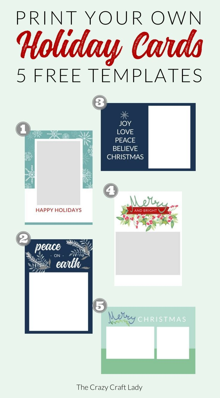 Free Christmas Card Templates Free Holiday Photo Card Templates Free Holiday Card Templates Christmas Card Templates Free