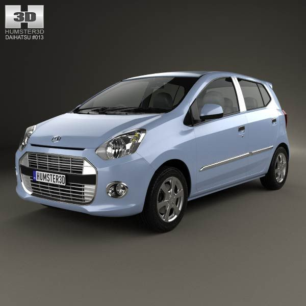 Daihatsu Astra Ayla 2013 3d model from humster3d.com. Price: $75