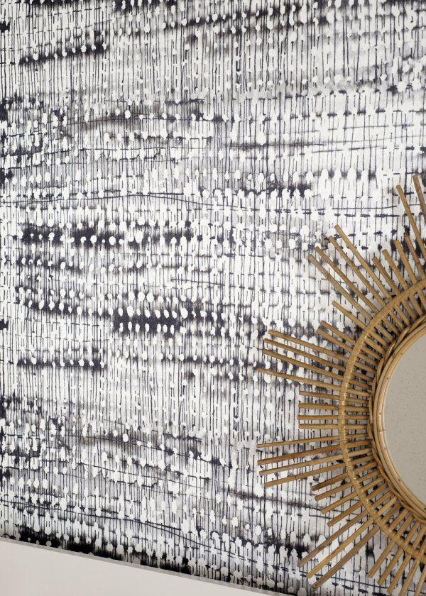 Papier peint : l'intensité du noir et du blanc - Marie Claire Maison