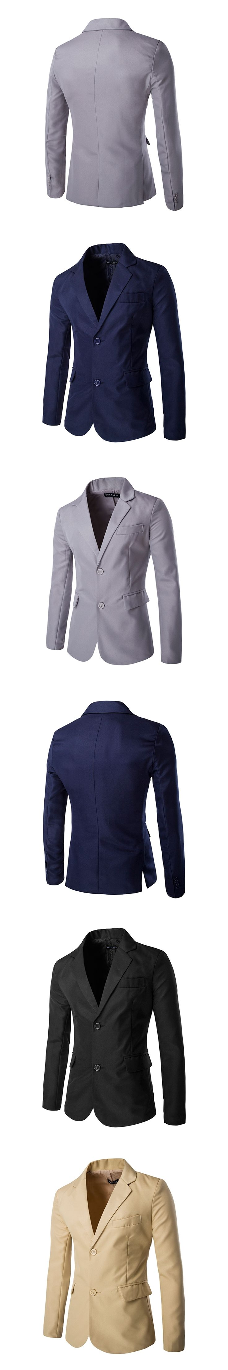 HOT Sale!!Gentleman Fashionable Slim fit  Stylish Single Breasted Blazer Solid Mens Coat  Mens Pullover   PX70