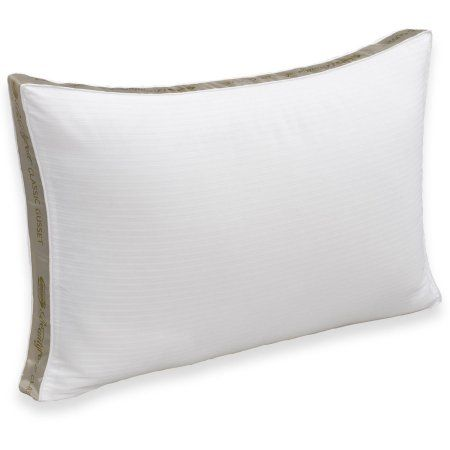 Simmons Beautyrest Pima Cotton Extra Firm Pillow, White