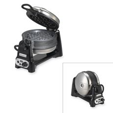 "Double sided waffle maker by KitchenAid. Dope. I love the product reviews. Someone said ""this will make you the waffle whisperer"" LOL"
