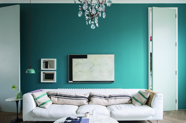 288 best cool colours images on pinterest farrow ball colors and blue walls. Black Bedroom Furniture Sets. Home Design Ideas