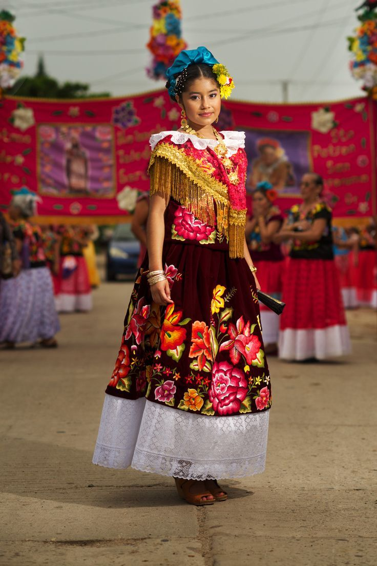 The people of Mexico: Oaxaca Dancers