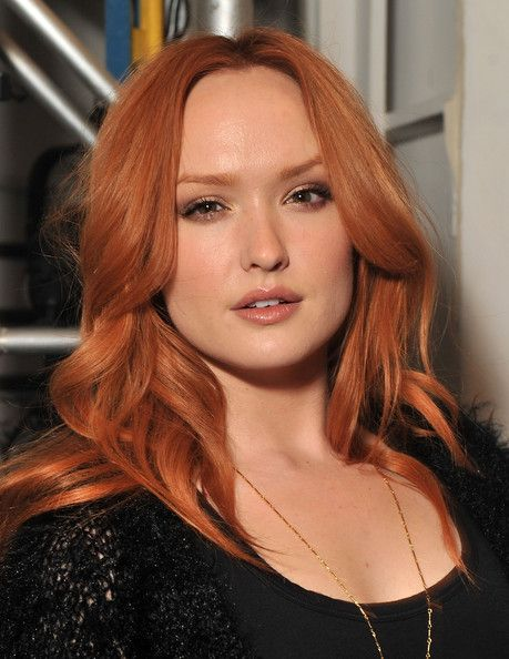 I love both the color and style of Kaylee DeFer's 'do here!