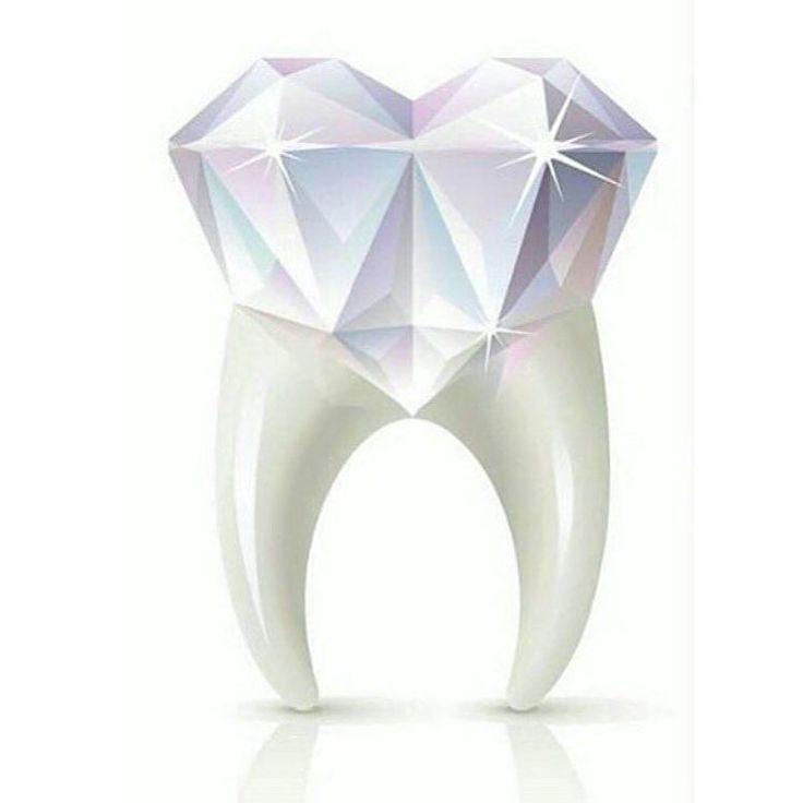 Shine bright like a diamond! #dentistry #art