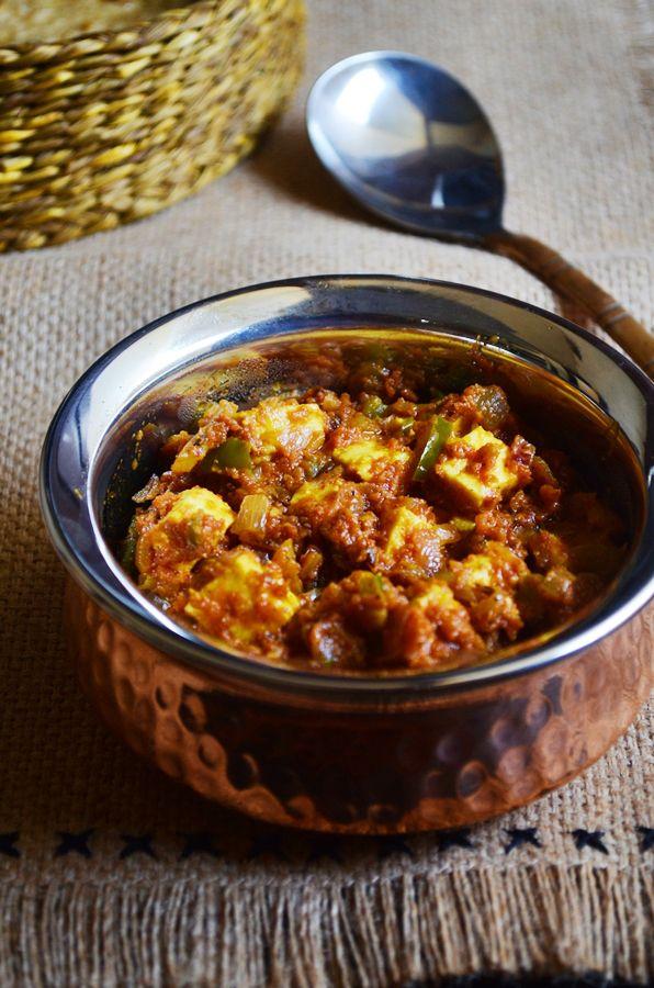 Restaurant style paneer tawa fry: Rich and delicious paneer tawa masala fry,restaurant style side dish recipe@ http://cookclickndevour.com/paneer-tawa-masala-recipe