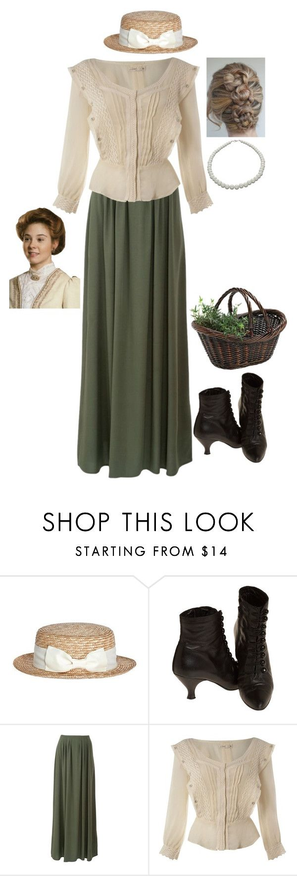 """DMA 15- Anne of Green Gables"" by ruthieue ❤ liked on Polyvore featuring Label Lab, NEXTE Jewelry, modern, women's clothing, women, female, woman, misses and juniors"