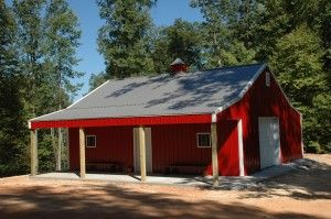 IMAGE GALLERY « DIY Pole Barns - Pole Barn Kits, Pole Buildings, Packages, Builders, Prices, Plans
