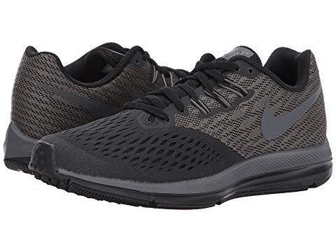 NIKE Air Zoom Winflo 4, ANTHRACITE/DARK GREY/BLACK. #nike #shoes ...