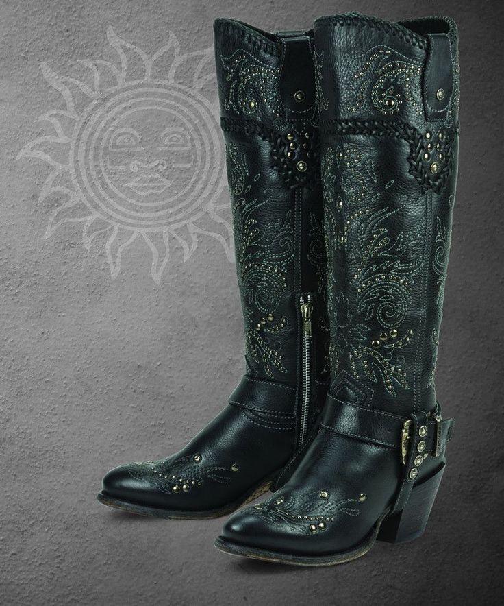 Andromeda (black)- Black Star Boots