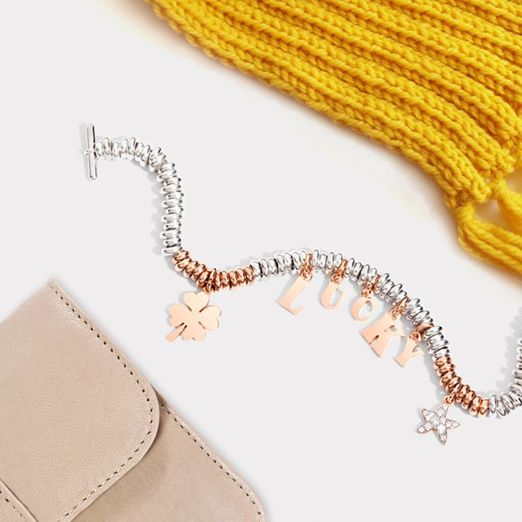 For an autumn full of surprises always carry your Dodo lucky charm bracelet with you, wherever you go.