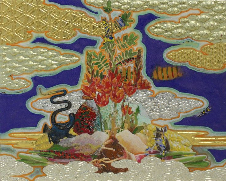 Masatake Kozaki, 'TORITONIMERONBARASHOGA(Chimera):bird/melon/rose/ginger', 2015, Whitestone Gallery