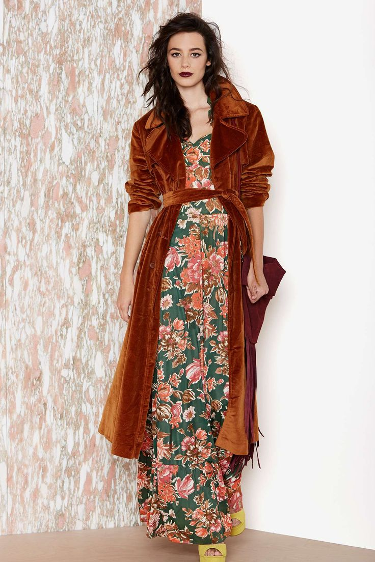 #gitanilla #coat #abrigo #orange velvet coat