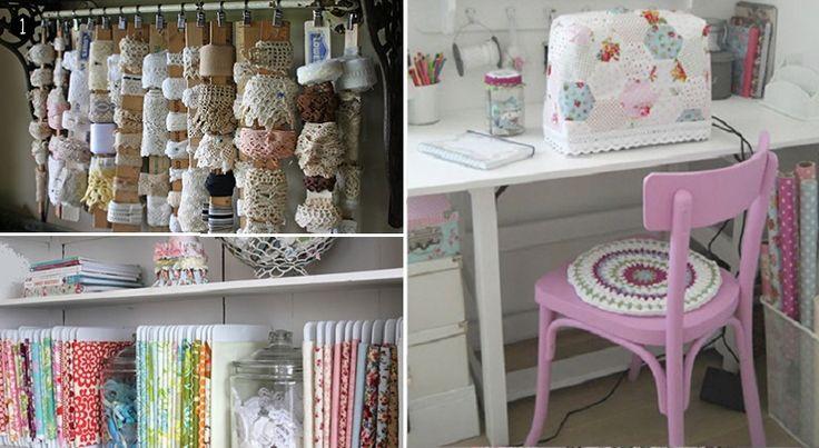 des astuces de rangement pour l atelier de couture couture pinterest pi ces de monnaie. Black Bedroom Furniture Sets. Home Design Ideas