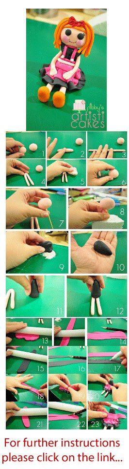 step  by stepladder la loopsy fondant figurine