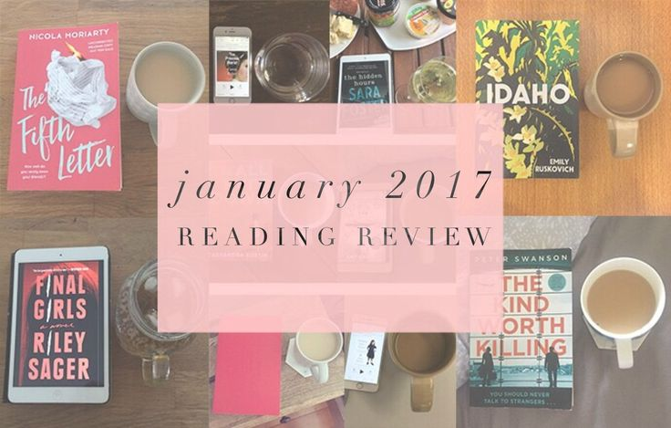 A look back at the ten books I read in January 2017.