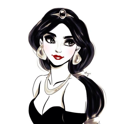 Jasmine. She's a bit white in this haha but I'll take it as high contrast